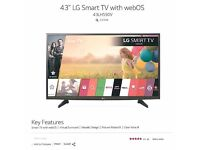 "LED SMART TV 43"" FULL HD LG BRAND RECENTLY BOUGHT 4 MONTHS OLDER."