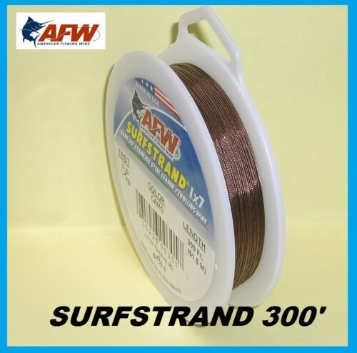 AFW SURFSTRAND Camo 1x7 Stainless Wire 300