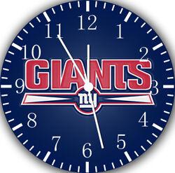 New York Giants Frameless Borderless Wall Clock For Gifts or Home Decor E442