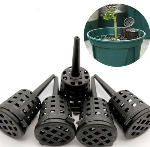Flower Plant Fertilizer Baskets Plastic Gardening Fertilizer Pot Tool With Lid