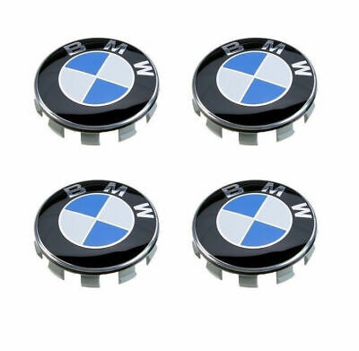 4x For BMW 1 3 Series Wheel Center Hub Caps Cover Badge Emblem 10 Pin Clips 68MM for sale  Shipping to Canada