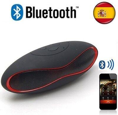 Altavoces portátil Altavoz con Bluetooth Inalambrico USB AUX MICRO SD Radio