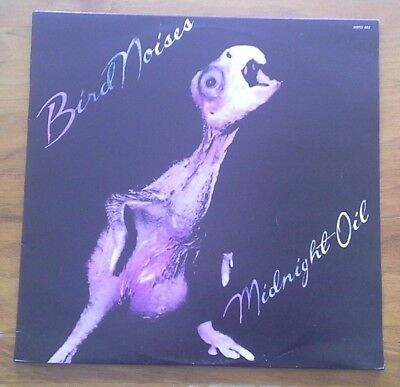 "(MIDNIGHT OIL-Bird Noises)-ORIGINAL 1ST PRESSING, OCT. 1980-F8-12"" EP"