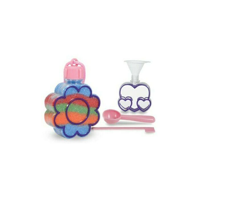 NEW Melissa And Doug Garden Craft Kit Sand Art Pendants Rainbow