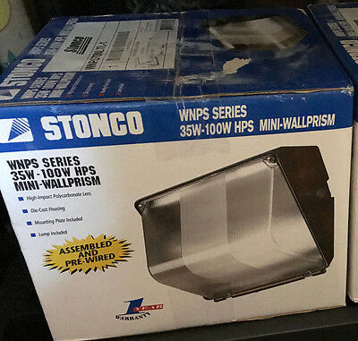 Stonco Tlc70nlxl-1 Hps 70 Watt 120 Volt With Lamp Bulb Cube Celing Light Fixture
