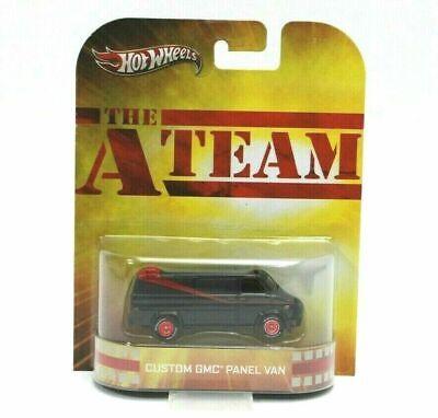 Hot Wheels Custom GMC Panel Van The A Team Retro Entertainment (515) New vehicle