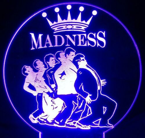 Madness One Step Beyond Acrylic Engraved LED lamp