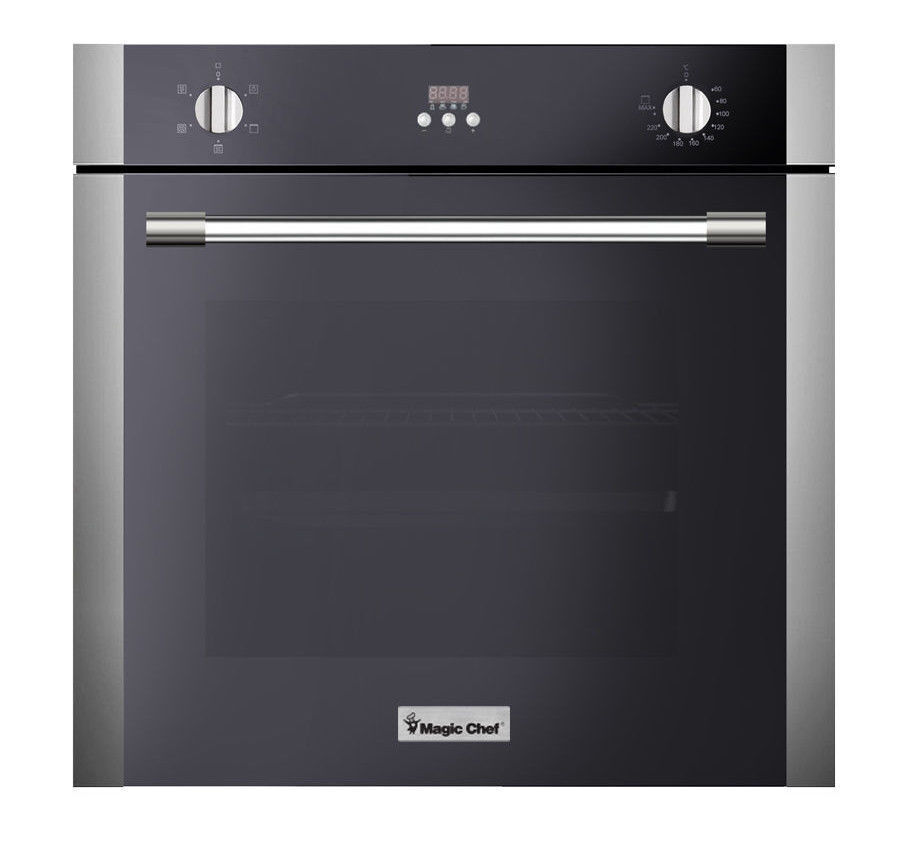 """Magic Chef MCSWOE24S 24"""" Electric Built in Single Wall Oven"""