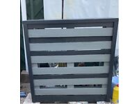 Grey pallet bar ready for immediate collection