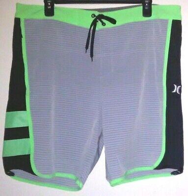 "360c7c568c Hurley Phantom Mens 20"" Board Shorts Size 38 / 36 EUC"