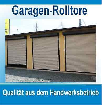 Rolltor, Garagenrolladen, Carportrolladen 310 x 231 cm, mit Kasten