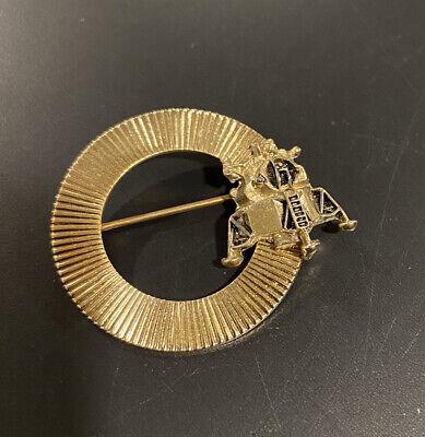 Vintage Apollo moon landing pin