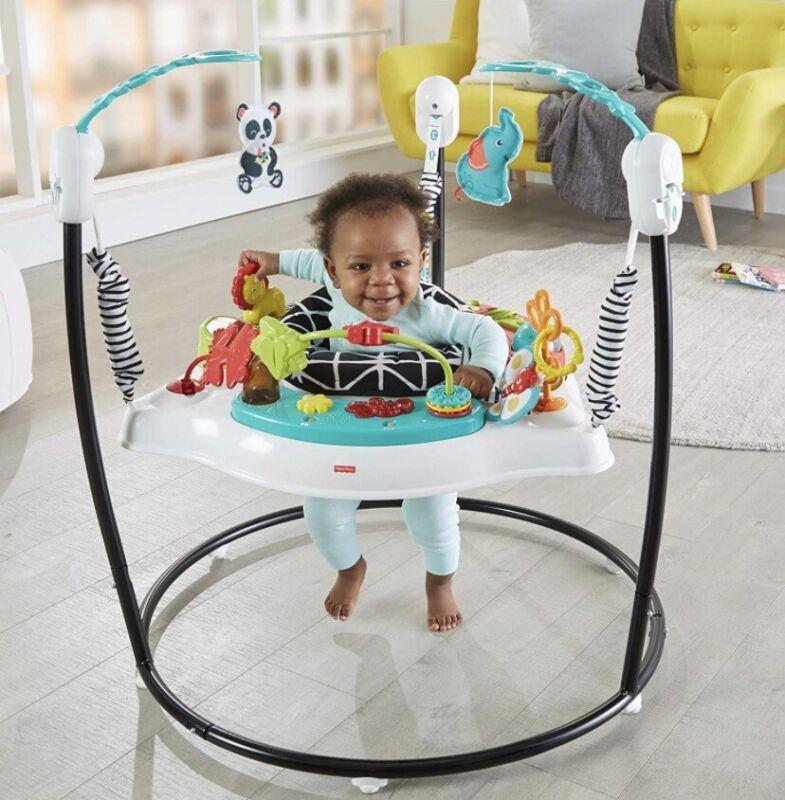Fisher-Price Jumperoo: Animal Wonders Baby Swing Jumper Exercise