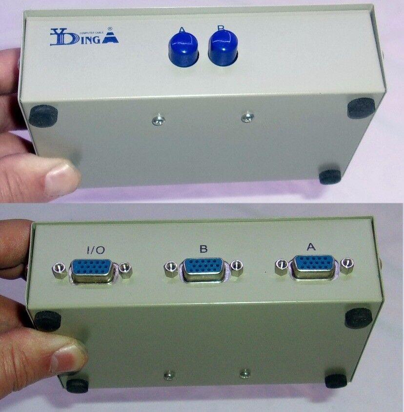 2 port VGA Switch Box