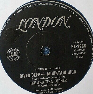 IKE AND TINA TURNER-RIVER DEEP MOUNTAIN HIGH/I'LL KEEP YOU HAPPY