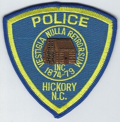 **HICKORY NORTH CAROLINA POLICE PATCH** ()