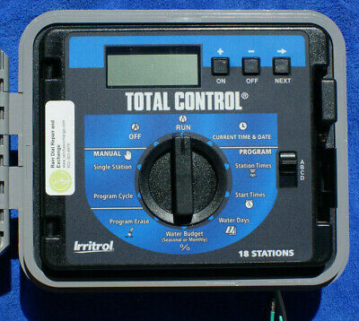 Irritrol Total Control TC-EX-R 18 Station EXT / INT sys -Fst Shp,Warranty,Tested