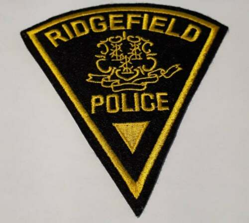 Ridgefield Connecticut CT Police Patch Vintage