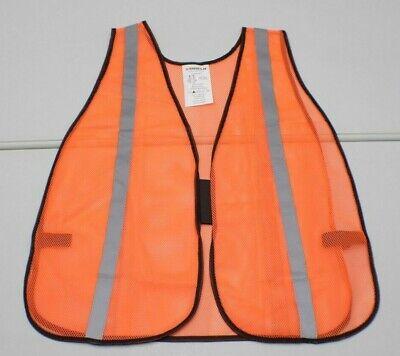 Safety Works CV201 Be Seen Mesh Vest Orange