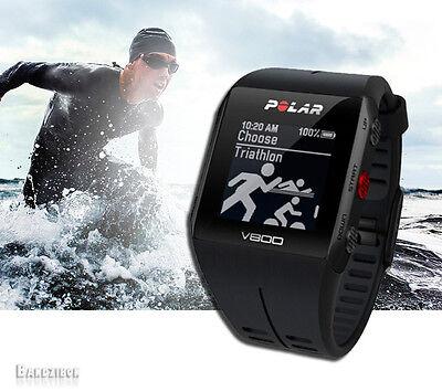 Polar V800 Black Multisport GPS Watch Running Swim Cycling Triathlon Computer