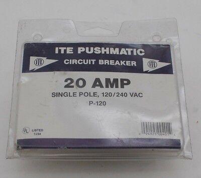 Ite Pushmatic Circuit Breaker P-120
