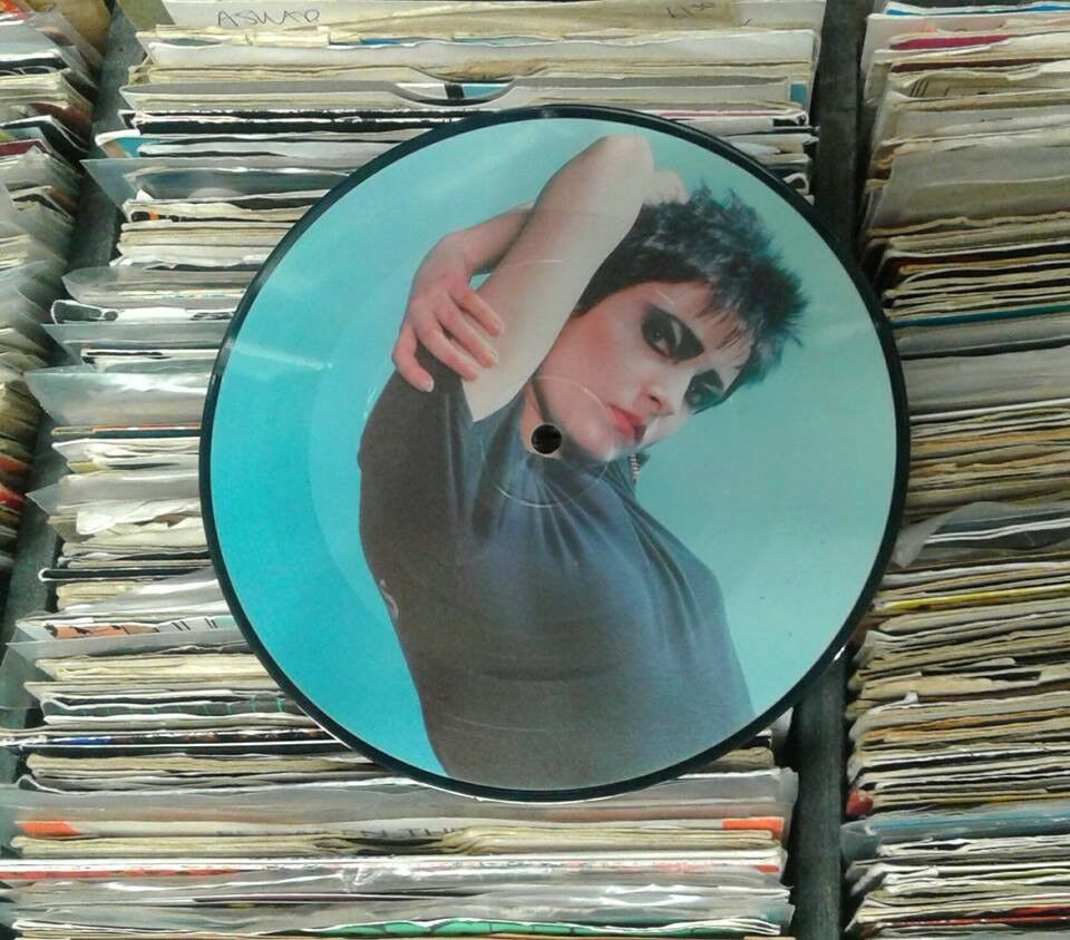 Siouxsie Sioux – An Interview With 'Siouxsie Sioux', NM, limited edition 7 inch 33rpm disc, Punk
