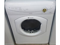 b136 white hotpoint 6kg vented dryer comes with warranty can be delivered or collected