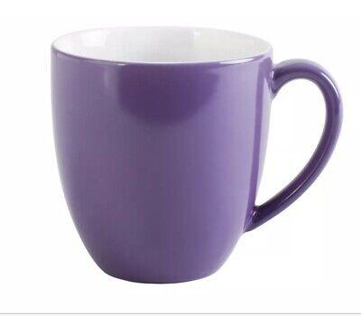 KAHLA - PRONTO - PORCELAIN CHINA  COFFEE MUG - XL- 400ml  PURPLE - 575334A72820C