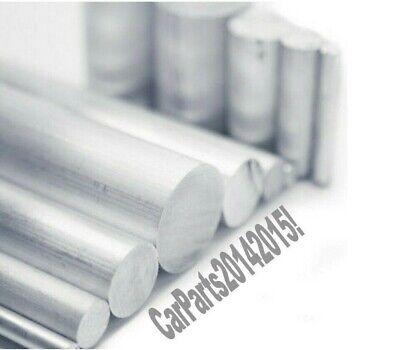 Aluminio Redondo BAR 12.7mm. Solid. Tubo. Largo ; 375mm. Varilla Calidad