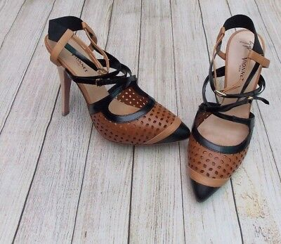 Used, GIUSEPPE ZANOTTI FOR VIONNET CUT OUT ANKLE STRAP PUMPS>BN>GENUINE>£550>7>SHOES> for sale  Shipping to Ireland