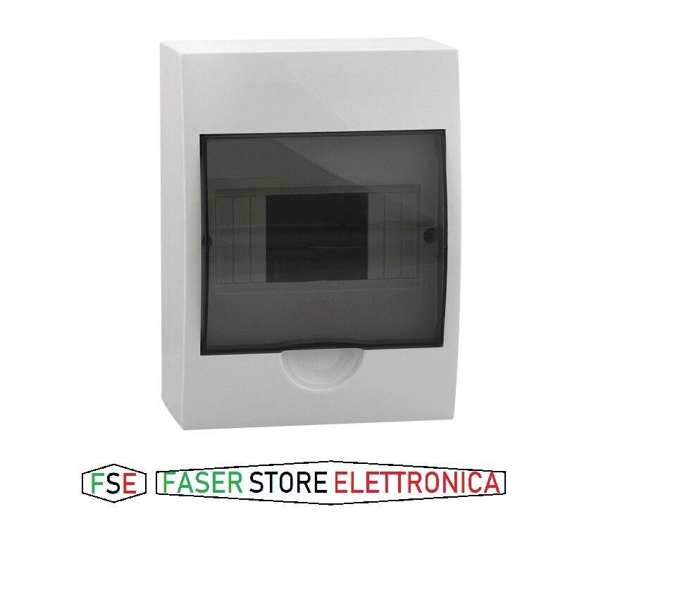 Centralino da parete 6 moduli barra din portello quadro elettrico SAREL offerta