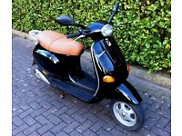 Vespa ET2 Scooter 49cc for sale - working order, low mileage, reasonable condition