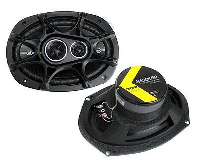 2) New Kicker 41DSC6934 D Series 6x9\ 360 Watt 3 Way Car Audio Coaxial Speakers