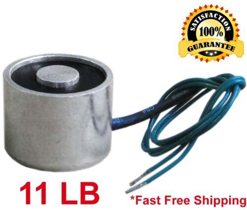 11 LB (5kg) Electric Lifting Magnet Electromagnet Solenoid Lift Holding 25mm 12V