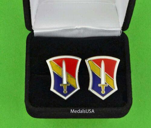 U.S. ARMY 1st FIELD FORCE VIETNAM Cuff Links & Gift Box Cufflinks - USA VIETNAM