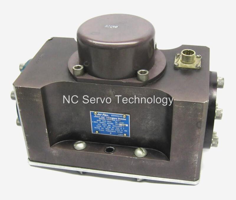 Abex 450-1635 P/n 78167 Jet-pipe Servo Valve Rebuilt W/12 Mo Warranty