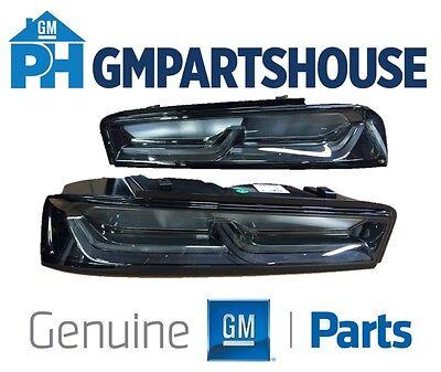 2016-2018 Camaro Genuine GM Darkened Tail Lights Lamps 84136777