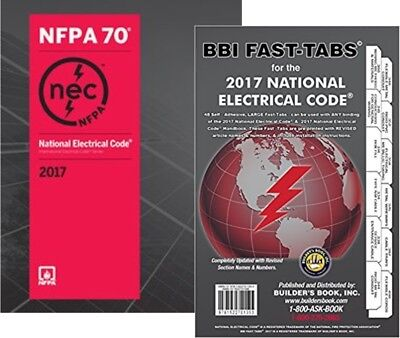 NFPA 70 : National Electrical Code (NEC), Paperback, with Fast Tab, 2017 Edition