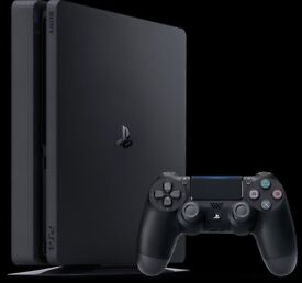 PlayStation 4 Slim 1 Tb like new w/Vertical stand