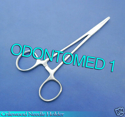 Crilewood Needle Holder 6 Surgical Dental Veterinary Instruments