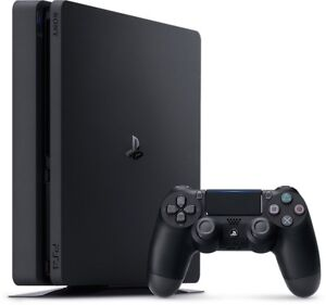 1Tb PS4 Slim + 2 Controllers and 4 Games