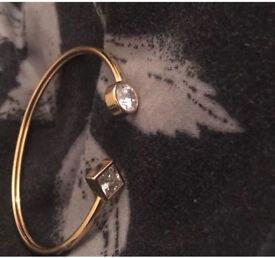 Michael Kors Park Avenue Gold Cuff Bracelet