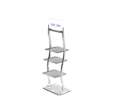 Retail Display Rack Shelves Floor Stand Clothing Health Beauty Products Display