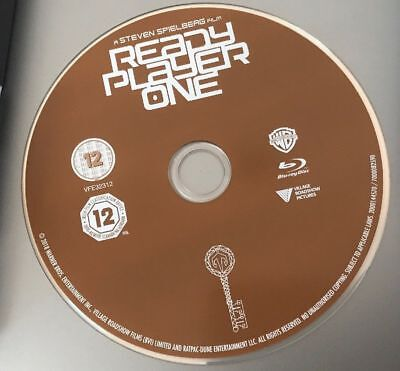 READY PLAYER ONE BLU-RAY DISC ONLY NEVER WATCHED