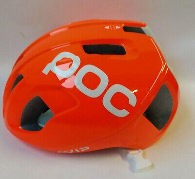 POC Ventral Spin Zink Orange Avip MTB Helm Bike Helm Gr. M...