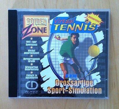 Virtual Tennis Vollversion - grossartige Sport-Simulation - PC Spiel - gebraucht