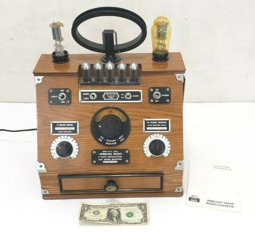 Spirit of St. Louis Wireless Radio & Cassette Player Reproduction Novelty - SOSL