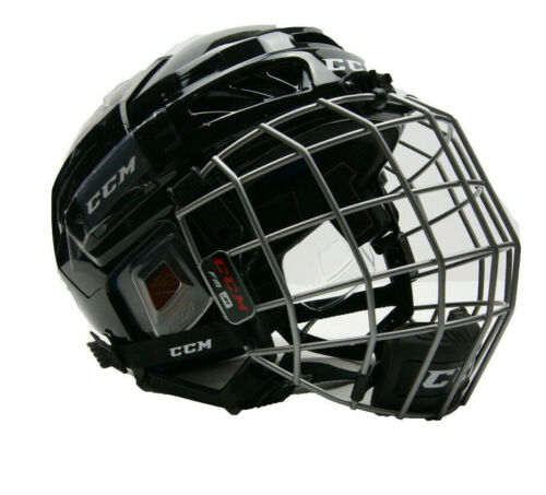 CCM FL3DS Hockey Helmet Combo Black Youth (Ages 4-7) HTYTHC
