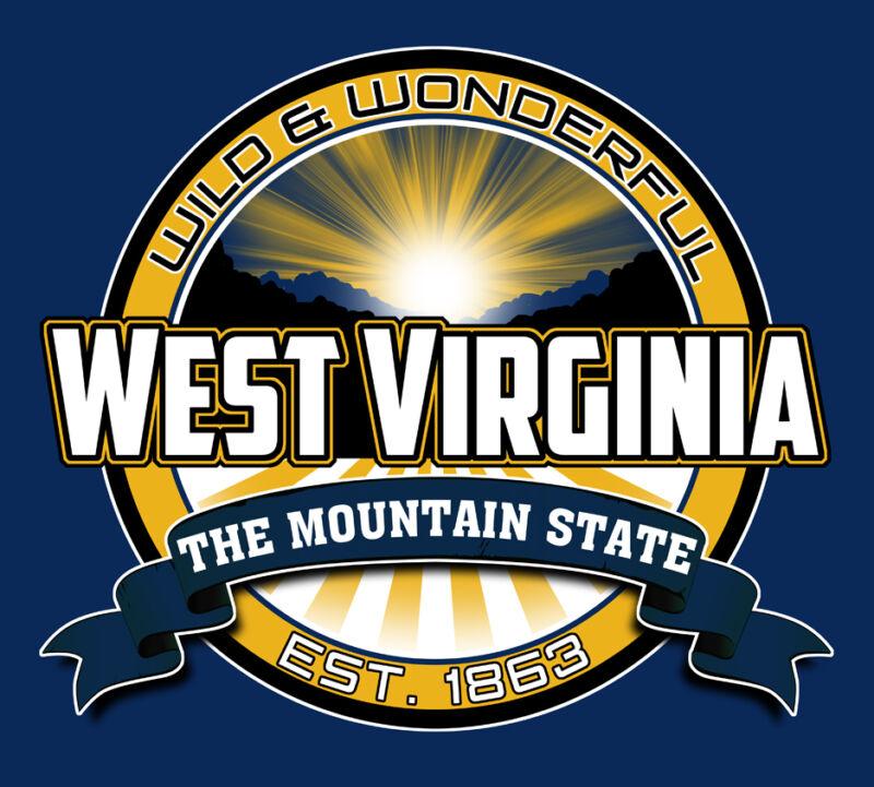 wild wonderful west virginia mountain state decal