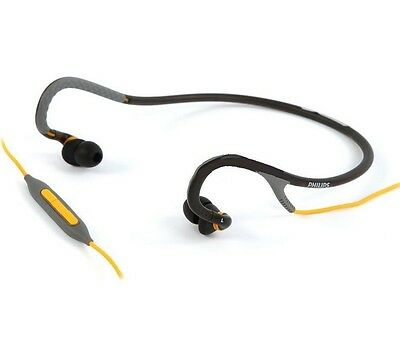 Philips SHQ4017GY/28 Sports Neckband SweatProof Washable Headphones SHQ4017GY